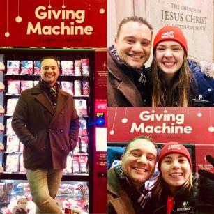Giving Machine